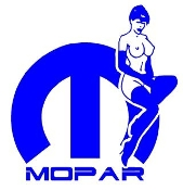 Mopar Girl 5 Decal Sticker