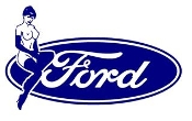 Ford Girl v7 Decal Sticker