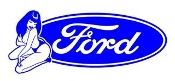 Ford Girl 8 Decal Sticker