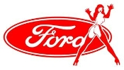 Ford Girl 9 Decal Sticker