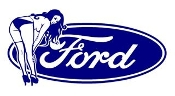 Ford Girl 10 Decal Sticker
