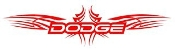 Dodge Tribal 2 Decal Sticker