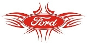Ford Tribal 3 Decal Sticker