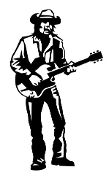 Guitarist 11 Decal Sticker