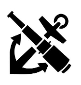 Boat Anchor 2 Decal Sticker