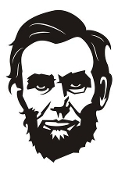 Abraham Lincoln Decal Sticker