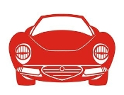 Car Front View v2 Decal Sticker