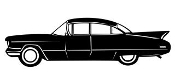 Classic Car v8 Decal Sticker