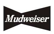 Mudweiser 2 Decal Sticker