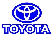 Toyota v6 Decal Sticker