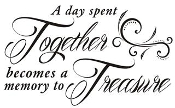 A Day Spent Together Decal