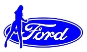Ford Girl v11 Decal Sticker