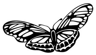 Butterfly 2 Decal Sticker