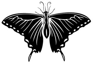 Butterfly 4 Decal Sticker