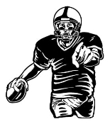 Quarterback v2 Decal Sticker