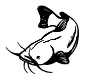 Catfish Decal Sticker
