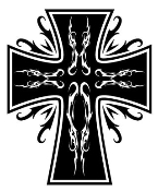 Cross v1 Decal Sticker