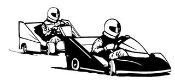 2cycle Go Karts Racing Decal Sticker