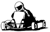Go Kart v2 Decal Sticker
