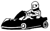 Go Kart v5 Decal Sticker