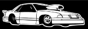 Pro Stock Dragster v1 Decal Sticker