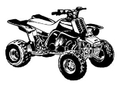 ATV v8 Decal Sticker