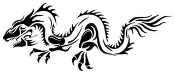 Dragon v1 Decal Sticker