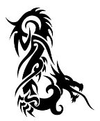 Dragon v7 Decal Sticker
