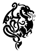 Dragon v19 Decal Sticker