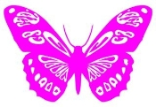 Butterfly v5 Decal Sticker
