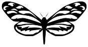 Butterfly v11 Decal Sticker