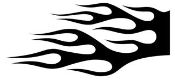 Flame Pattern v19 Decal Sticker