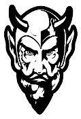 Devil Head v4 Decal Sticker