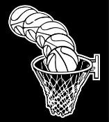 Ball and Hoop Decal Sticker