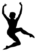 Dancer Silhouette v9 Decal Sticker