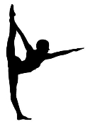Dancer Silhouette v12 Decal Sticker