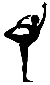 Dancer Silhouette v14 Decal Sticker