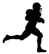 Running Back Silhouette v3 Decal Sticker
