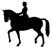 Equestrian Silhouette v1 Decal Sticker