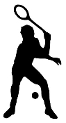 Racquetball Decal Sticker