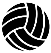 Volleyball Decal Sticker