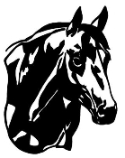 Horse Head v6 Decal Sticker