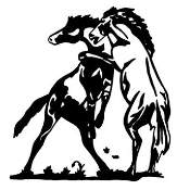 Wild Horses Decal Sticker