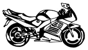 Crotch Rocket v2 Decal Sticker
