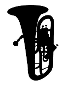 Tuba Decal Sticker