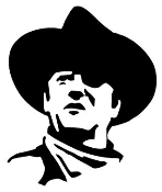 John Wayne Decal Sticker