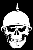 Military Skull v1 Decal Sticker