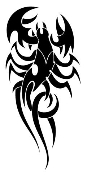 Scorpion v5 Decal Sticker