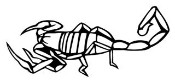 Scorpion v6 Decal Sticker