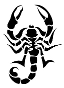 Scorpion v8 Decal Sticker